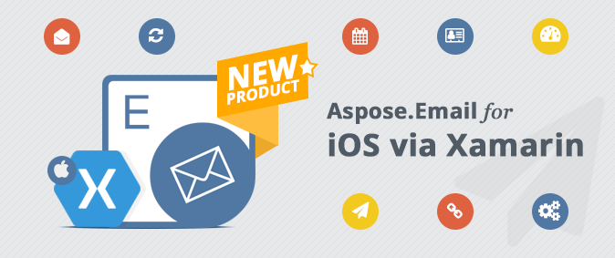 Email File Formats Processing APIs for iOS Applications via Xamarin Framework
